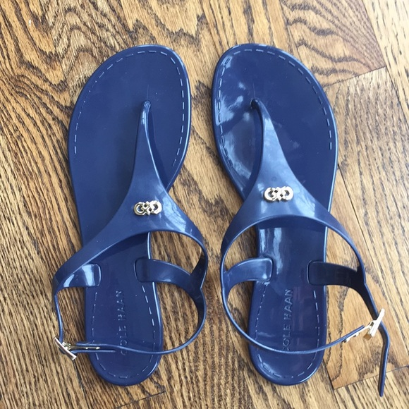 Cole Haan Shoes Navy Blue Womens Sandals Size 7 Poshmark